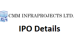 CMM Infraprojects Ltd IPO (CMMIL IPO) Details - Apply IPO
